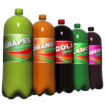 Bottle carbonated non-alcoholic beverages for a training session