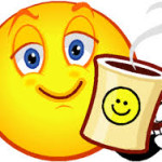 Smiley Face - Morning Coffee