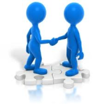 shaking hands, networking